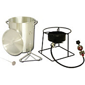 King Kooker 29 Quart Turkey Fryer Outdoor Cooker Package