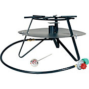 King Kooker Heavy Duty Jet Burner Outdoor Cooker Package with Flat Bar Legs