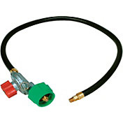 King Kooker High Pressure Adjustable Regulator and Listed Low Pressure Hose with Male Pipe Thread and Orifice