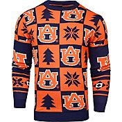 Klew Men's Auburn Tigers Blue Ugly Sweater