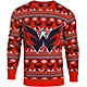 Klew Men's Washington Capitals Red/Blue Ugly Sweater