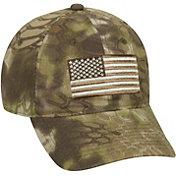 Kryptek Men's Americana Tonal Flag Camo Hat