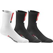 Louis Garneau Adult Conti Long Cycling Sock 3 Pack