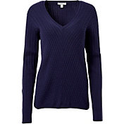 Lady Hagen Women's Monarch Collection Cableknit Golf Sweater