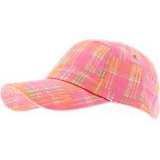 Lady Hagen Women's Islamorada Collection Plaid Patchwork Golf Hat