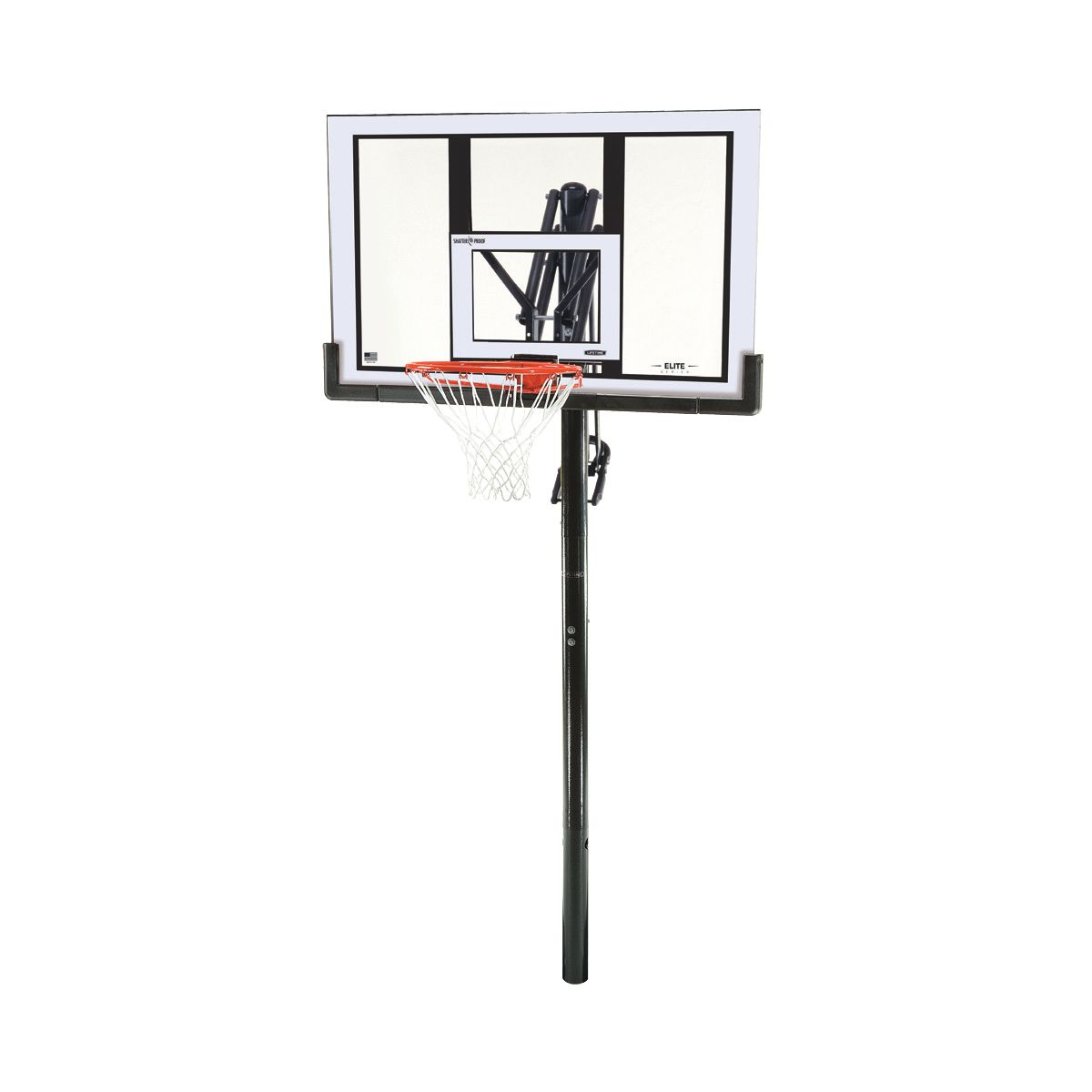 "Fresh Lifetime Elite 52"" In-Ground Basketball Hoop | DICK'S Sporting Goods BL33"