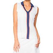 LIJA Women's Line Drive Sleeveless Polo