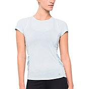 LIJA Women's Stripe Fluid Tennis T-Shirt