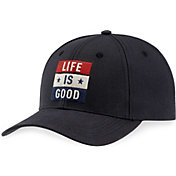 Life Is Good Men's Flag High Rise Chill Hat