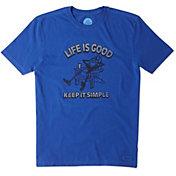 Life is Good Men's Adirondack Chill Crusher T-Shirt