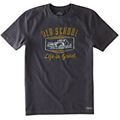 Life is Good Men's Old School Truck Crusher T-Shirt