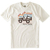 Life is Good Men's Ride On Crusher T-Shirt