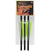 Lumenok Lumen-Arrow Lighted Nock Crossbow Bolt – 3 Pack