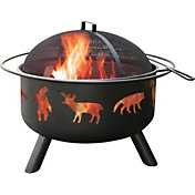 Landmann Wildlife Black Fire Pit