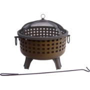 "Landmann Savannah 28.5"" Antique Bronze Fire Pit"