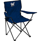 Milwaukee Brewers Team-Colored Canvas Chair