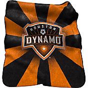 Houston Dynamo Raschel Throw Blanket