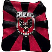 D.C. United Raschel Throw Blanket