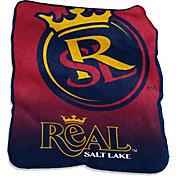 Real Salt Lake Raschel Throw