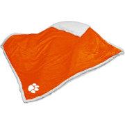 Clemson Tigers Sherpa Throw