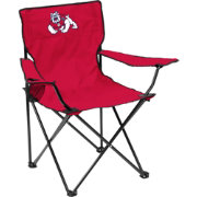 Fresno State Bulldogs Team-Colored Canvas Chair