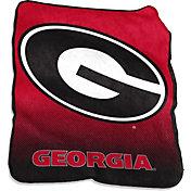 Georgia Bulldogs Raschel Throw