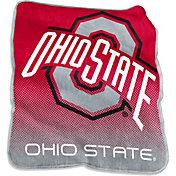Ohio State Buckeyes Raschel Throw