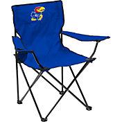 Kansas Jayhawks Team-Colored Canvas Chair