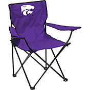 Kansas State Wildcats Team-Colored Canvas Chair
