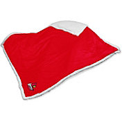 Louisville Cardinals Sherpa Throw