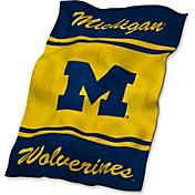 Logo Michigan Wolverines Ultra Soft Blanket