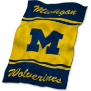 Logo Michigan Wolverines Ultra Soft Blanket
