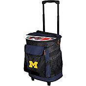 Logo Michigan Wolverines Rolling Cooler