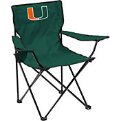 Miami Hurricanes Team-Colored Canvas Chair