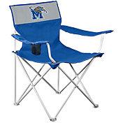 Logo Memphis Tigers Team-Colored Canvas Chair