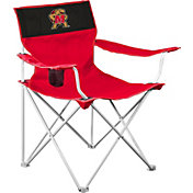 Logo Maryland Terrapins Team-Colored Canvas Chair