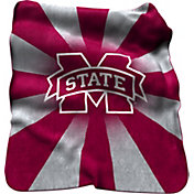 Mississippi State Bulldogs Sherpa Throw Blanket