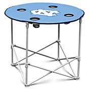 North Carolina Tar Heels Portable Round Table