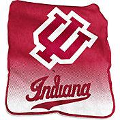 Indiana Hoosiers Raschel Throw