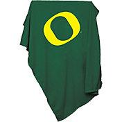 Oregon Ducks Sweatshirt Blanket