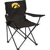 Iowa Hawkeyes Team-Colored Canvas Chair