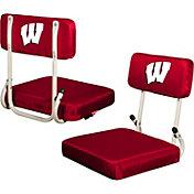 Wisconsin Badgers Hard Back Stadium Seat