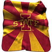 Iowa State Cyclones Sherpa Throw Blanket