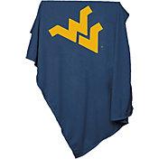 West Virginia Mountaineers Sweatshirt Blanket
