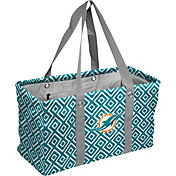 Miami Dolphins Double-Diamond Picnic Caddy