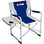 Logo State of Colorado Flag Alumni Deck Chair