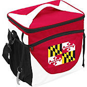 Logo State of Maryland Flag 24 Can Cooler Bag