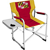 Logo State of Maryland Flag Alumni Deck Chair