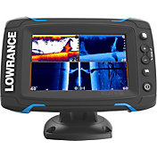Lowrance Elite-5 Ti GPS Fish Finder with Mid/High/TotalScan (000-12423-001)