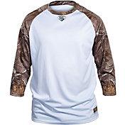 Louisville Slugger Boys' Camo Loose Fit ¾ Sleeve Shirt